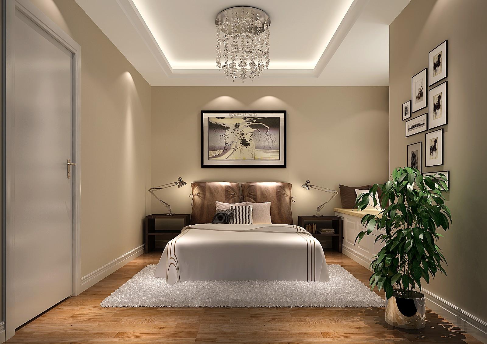 简约 温馨 舒适 白领 安逸 卧室图片来自高度国际装饰刘玉在华业东方玫瑰----舒适的家的分享