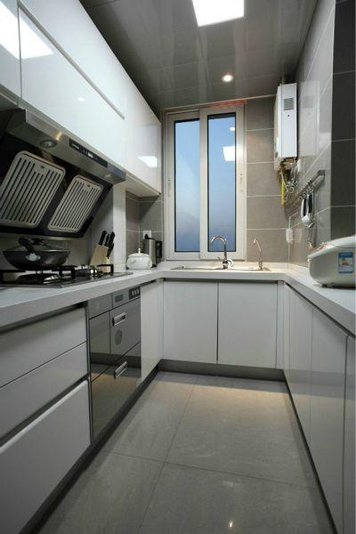 厨房图片来自聚星堂装饰在首创万卷山的分享