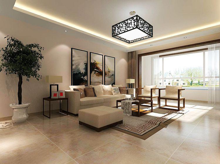 长阳九州 新中式风格 三居 今朝装饰 客厅图片来自北京今朝装饰在长阳九州溪雅苑--新中式风格的分享