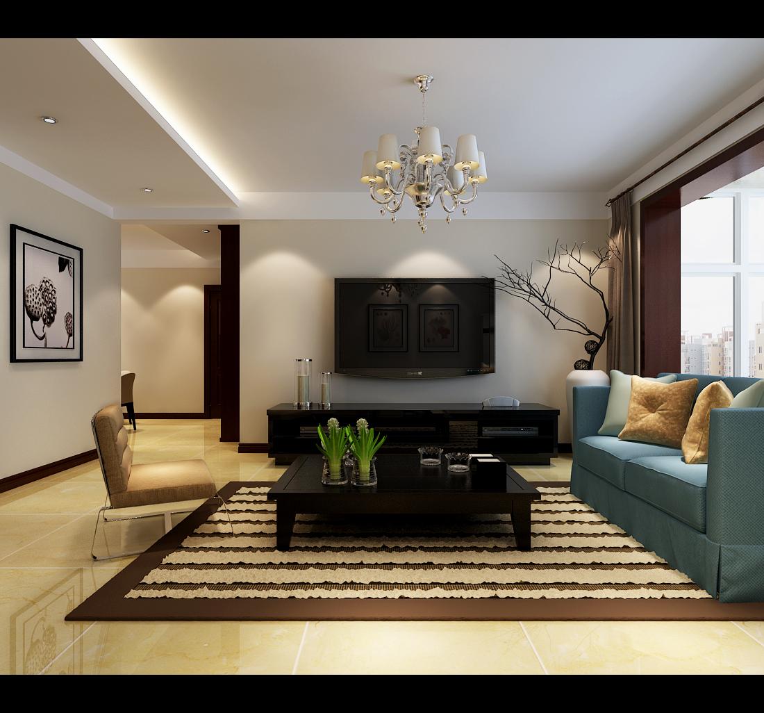 简约 三居 客厅图片来自楠得经典在石家庄裕华万达广场的分享