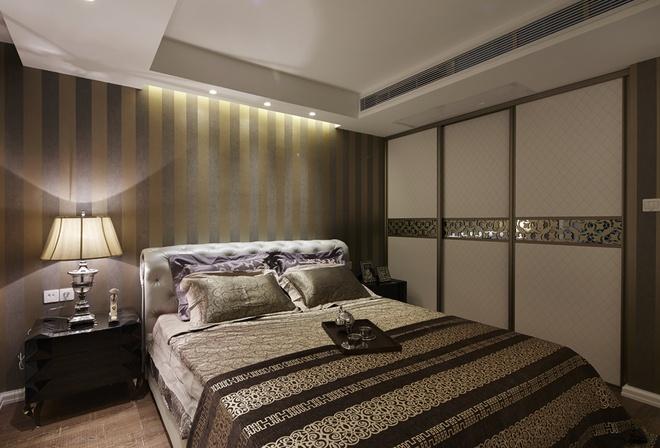 卧室图片来自家装大管家在后现代欧式风格 110平低调华丽居的分享