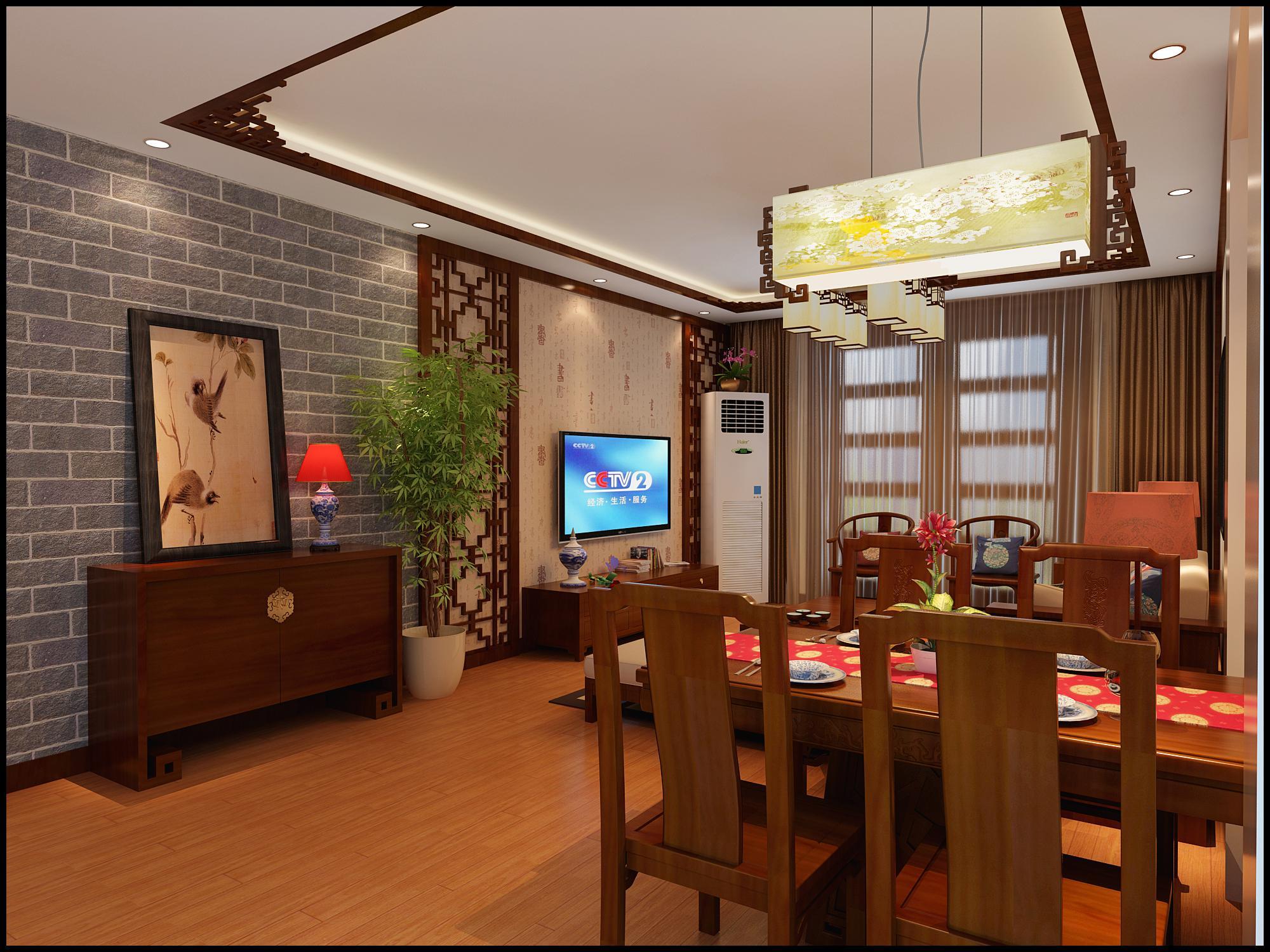 客厅图片来自用户2652703143在正商新蓝钻138平新中式设计方案的分享