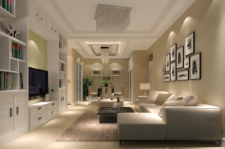 二居 现代风格 北京装修 自然 典雅 气质 生活空间 客厅图片来自高度国际装饰韩冰在华业东方玫瑰90㎡现代效果的分享