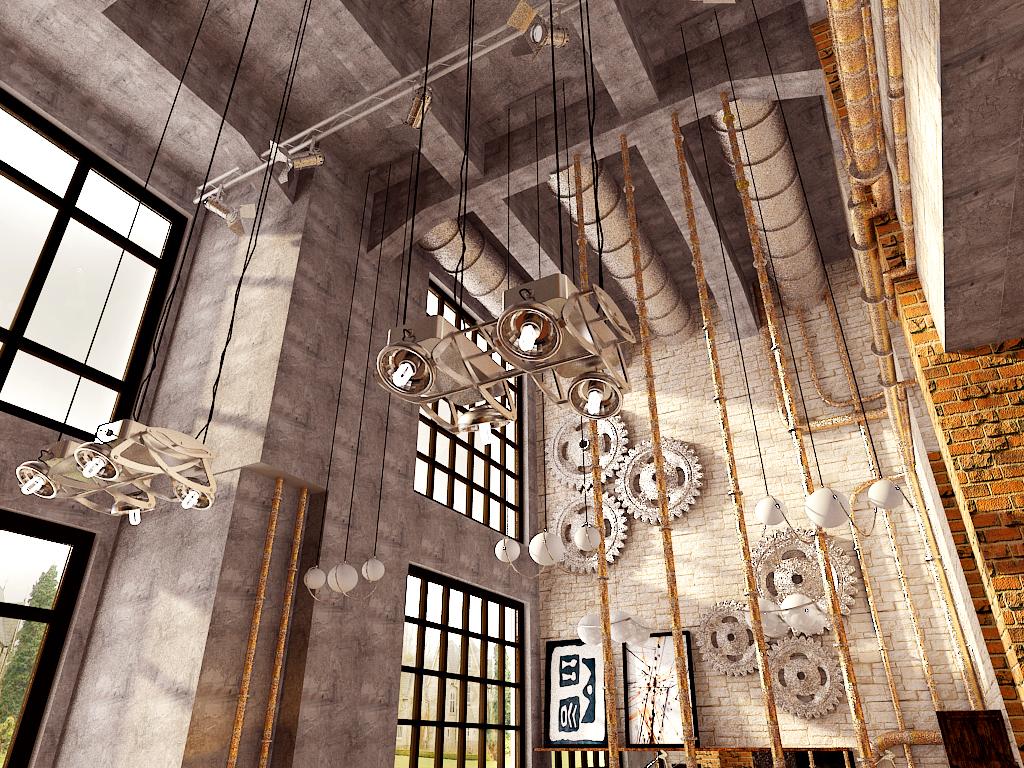 旧房改造 厂房改造 loft 其他图片来自百家装饰小姜在厂房改造soho的分享