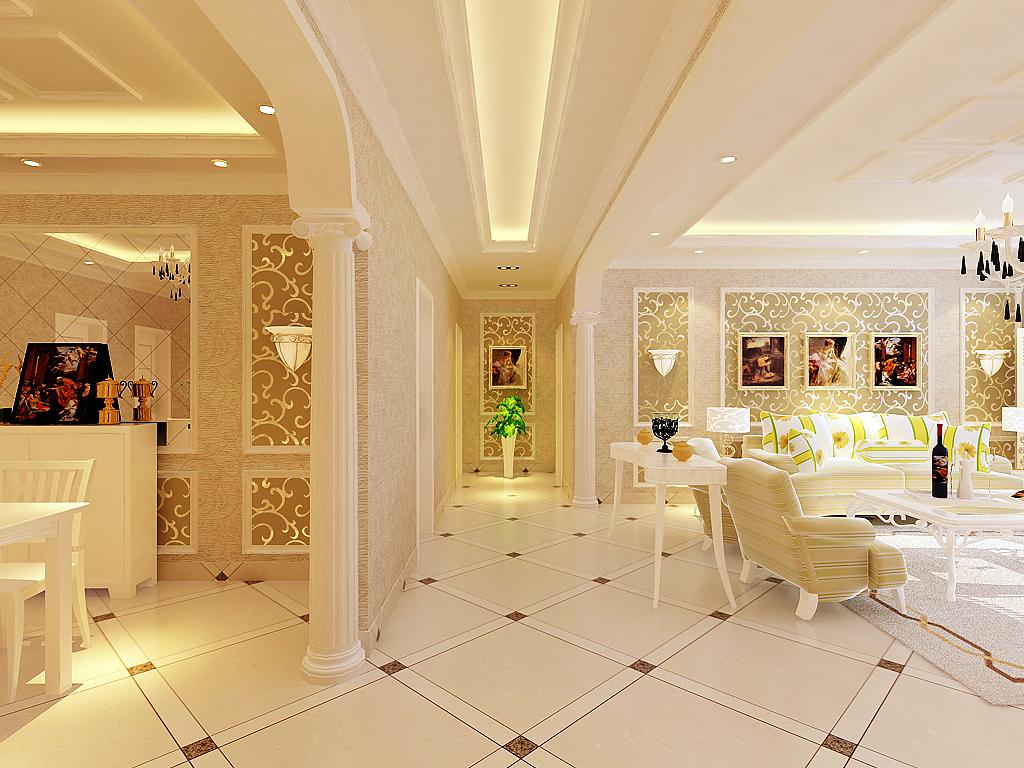 客厅图片来自石家庄品界国际装饰在石家庄瑞城130平米欧式的奢华的分享