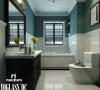 卫生间——简欧更为清新、居室不只是豪华大气,更多的是惬意和浪漫,也更符合本客户青春靓丽的审美观念。