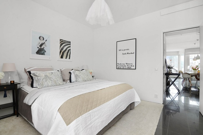 简约 欧式 田园 二居 别墅图片来自上海倾雅装饰有限公司在87平米温馨舒适三居的分享