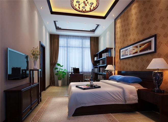 中式 内涵 卧室图片来自合建装饰李世超在平和而富有内涵的气韵的分享