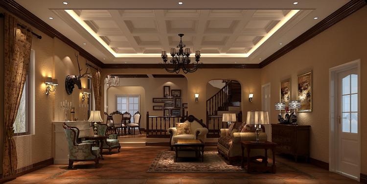 托斯卡纳 别墅 白领 收纳 80后 小资 客厅图片来自沙漠雪雨在君山高尔夫425㎡托斯卡纳别墅的分享