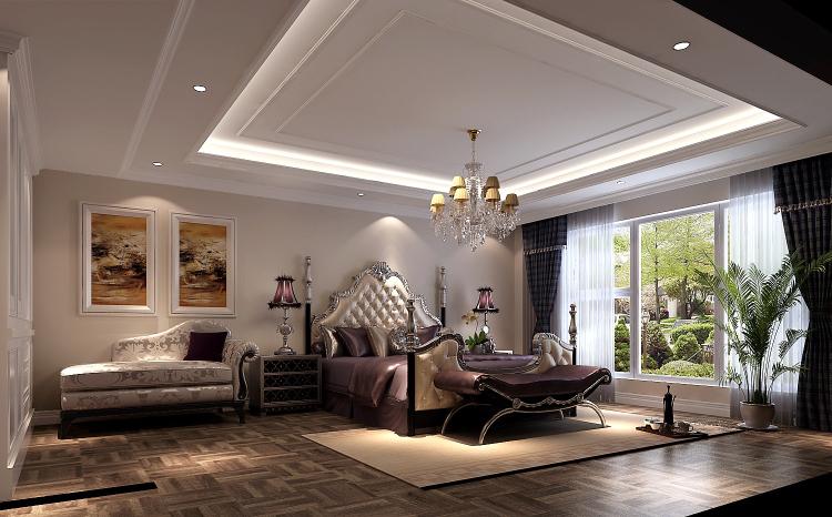 低调 奢华 别墅 80后 白领 小资 卧室图片来自沙漠雪雨在林肯公园270㎡低调奢华公寓的分享