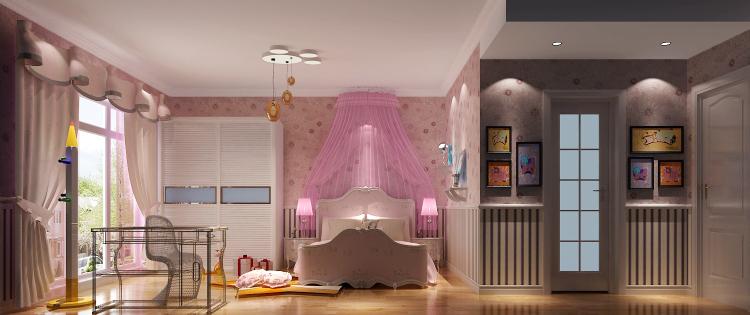 简约 欧式 80后 白领 小资 卧室图片来自沙漠雪雨在鲁能七号院210㎡简欧公寓的分享