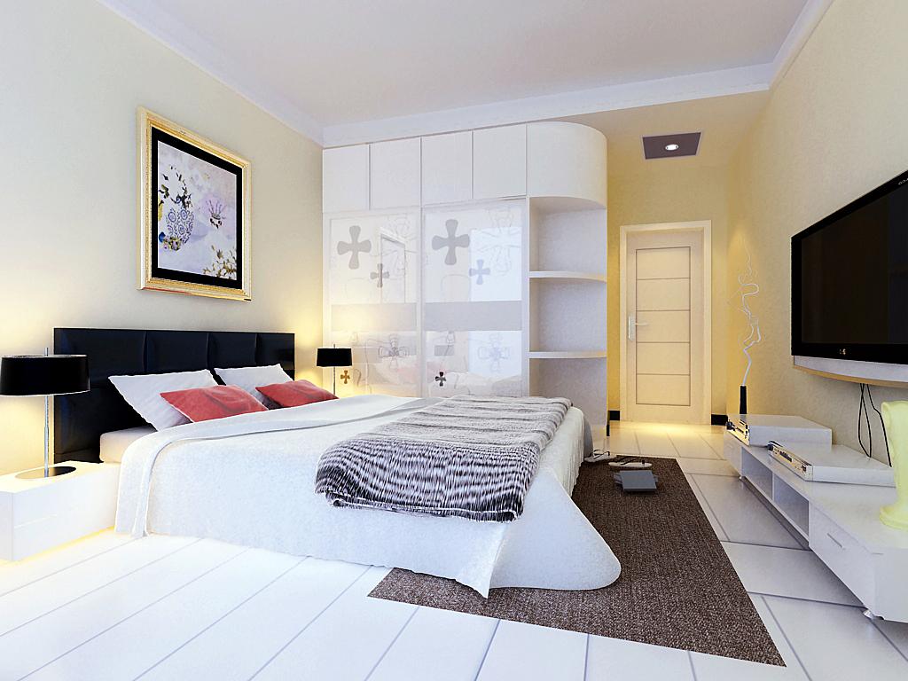 简约 卧室图片来自石家庄品界国际装饰在石家庄190平米现代旧房改造的分享