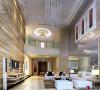 名雕丹迪设计--江南别墅--现代奢华--客厅
