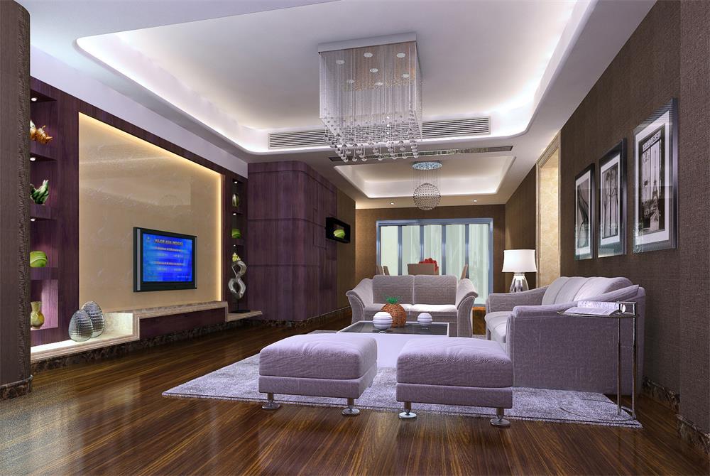 客厅图片来自深圳市浩天装饰在实用的分享