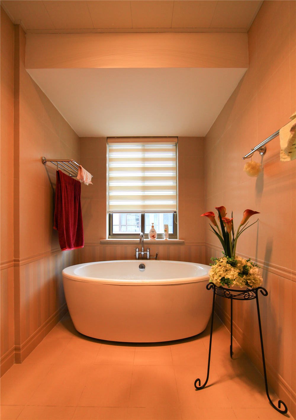 欧式 别墅 装修 奥邦装饰 陆健美 卫生间图片来自上海奥邦装饰在别墅装修欧式风格实景展示!的分享