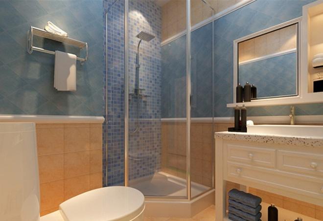 简约 欧式 田园 混搭 二居 白领 收纳 旧房改造 卫生间图片来自上海倾雅装饰有限公司在秋水云庐的分享