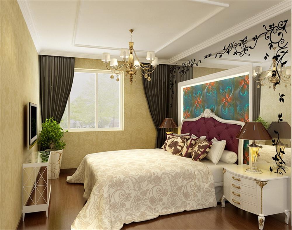 欧式 三居 白领 收纳 80后 小资 卧室图片来自实创装饰完美家装在大气暖意稳重混搭浪漫元素的分享