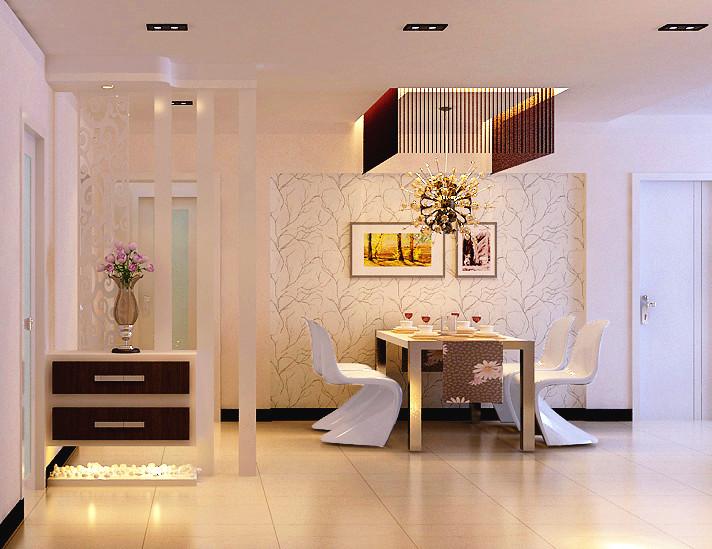 简约 餐厅图片来自郑州实创装饰-杨淑平在国瑞城-三居室-现代简约风格的分享