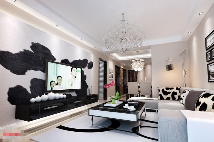 客厅图片来自xushuguang1983在芭蕾雨悦都120平米北欧清新家的分享