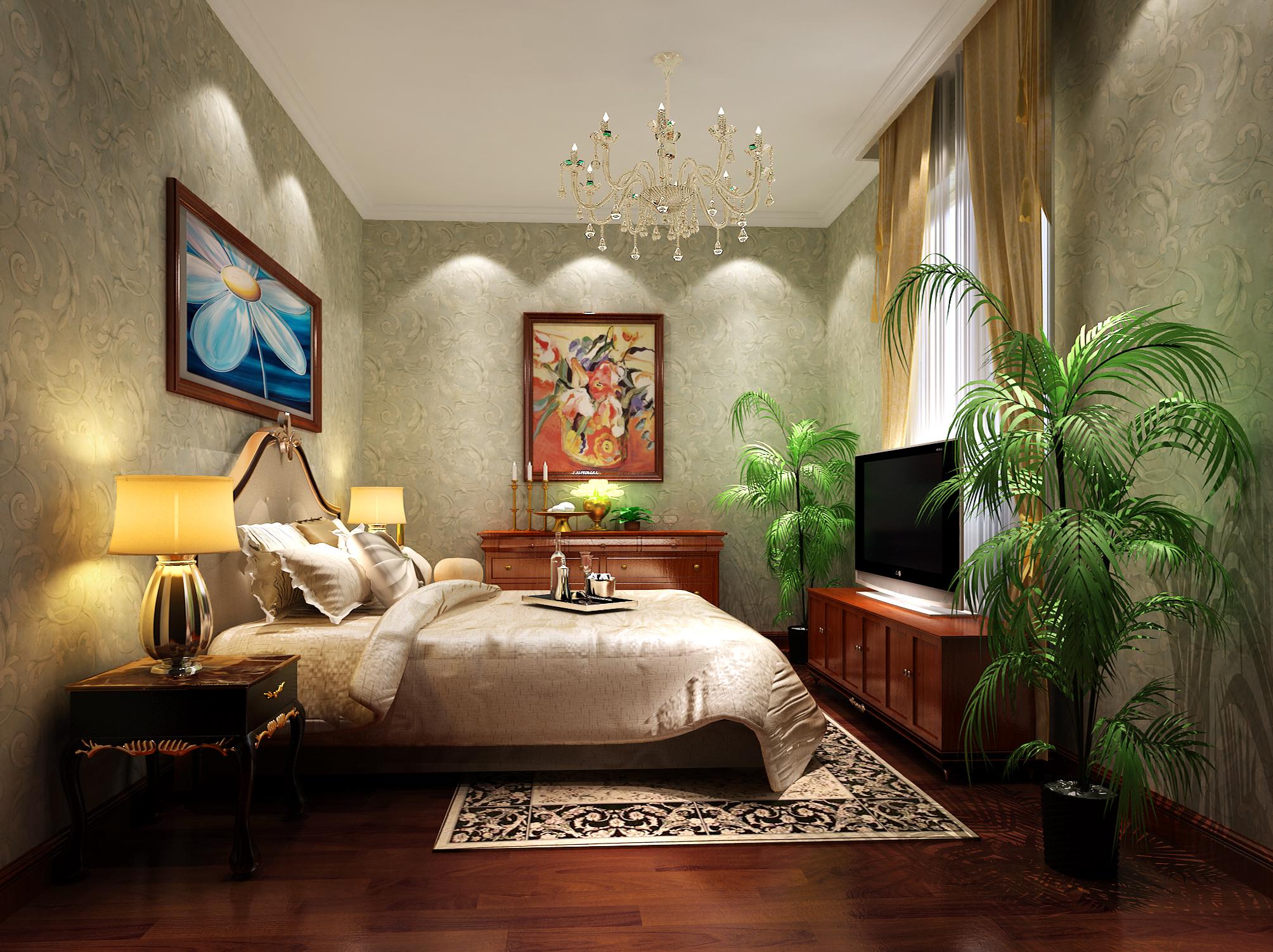 欧式 别墅 尊贵 大理石 温馨 卧室图片来自高度国际装饰刘玉在燕西台别墅---尊贵气质的分享