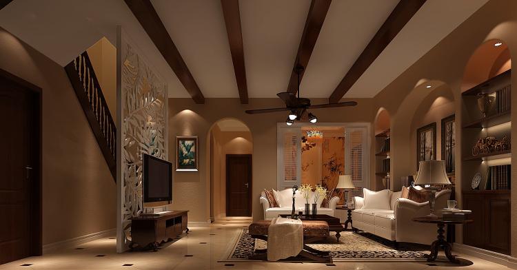 托斯卡纳 别墅 白领 80后 小资 客厅图片来自沙漠雪雨在香醍溪岸270㎡托斯卡纳别墅的分享