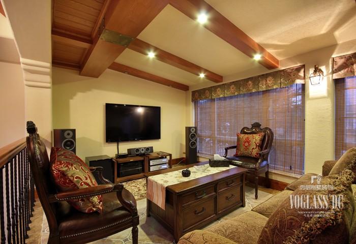 田园 别墅 京基领域 客厅图片来自天津别墅装修公司在冷暖补色设计的别墅色彩搭配的分享