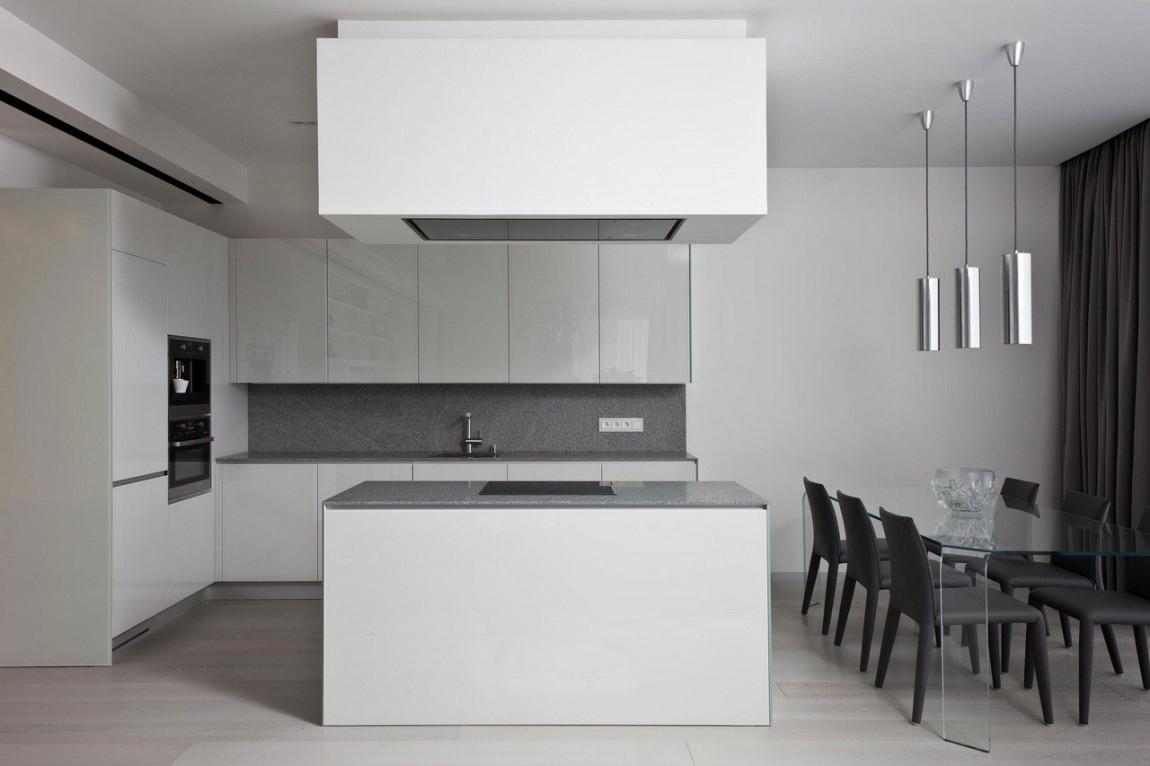 黑白时尚 简约装修 今朝装饰 新房装修 厨房图片来自北京今朝装饰在时尚黑白世界----顺义的分享