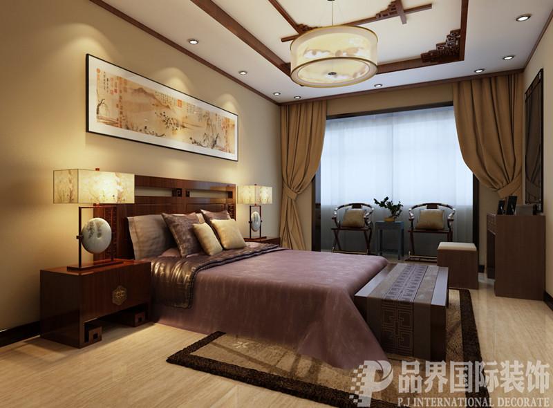 二居 卧室图片来自石家庄品界国际装饰在130平米中式家属院改造的分享