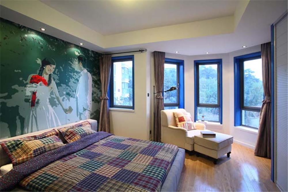 地中海 橱柜 餐桌 背景墙 卧室图片来自实创装饰梦在爱琴海之恋的分享