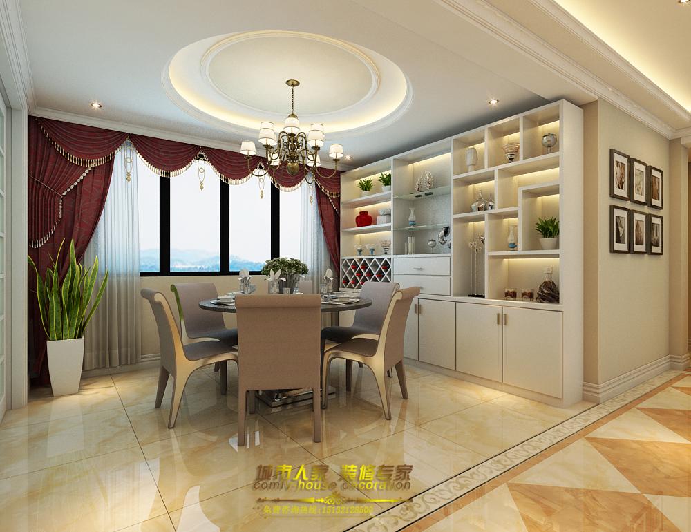 欧式 城市人家 常华 设计师 餐厅图片来自石家庄城市人家装饰公司在国赫红珊湾欧式的分享