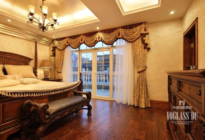 田园 别墅 京基领域 卧室图片来自天津别墅装修公司在冷暖补色设计的别墅色彩搭配的分享