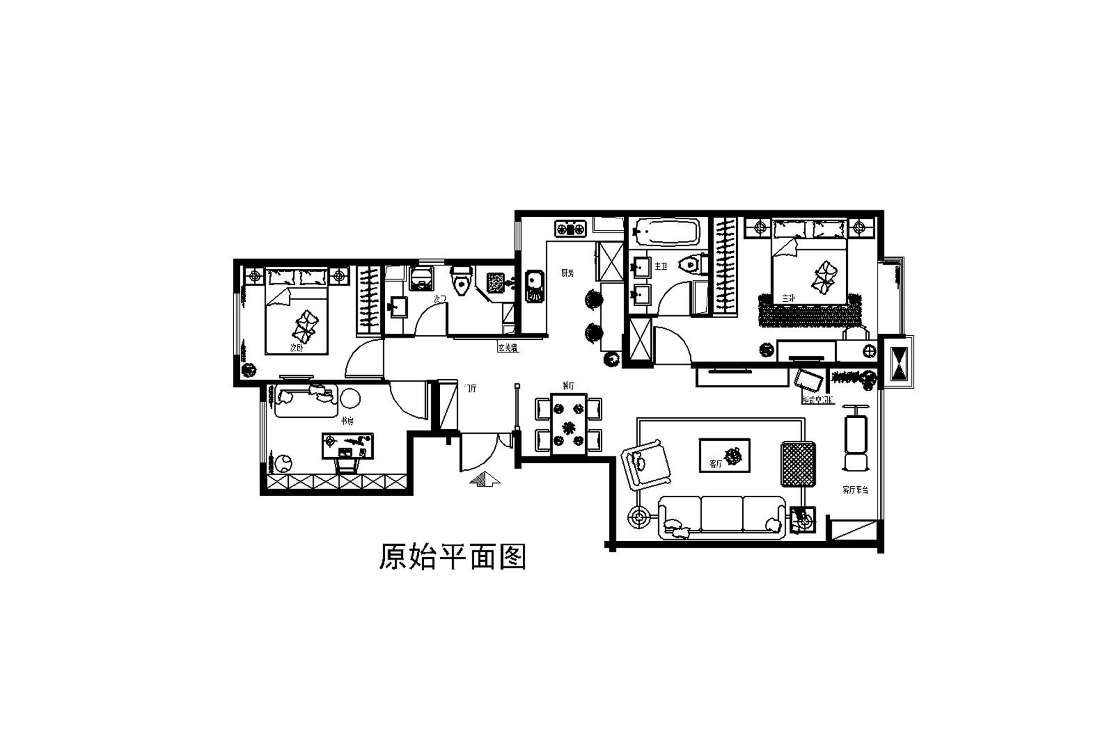 三居 客厅 欧式 新古典 白领 80后图片来自孙进进在120平三房欧式新古典灵动典范的分享
