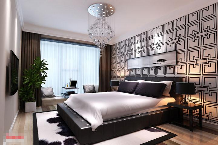卧室图片来自xushuguang1983在芭蕾雨悦都120平米北欧清新家的分享