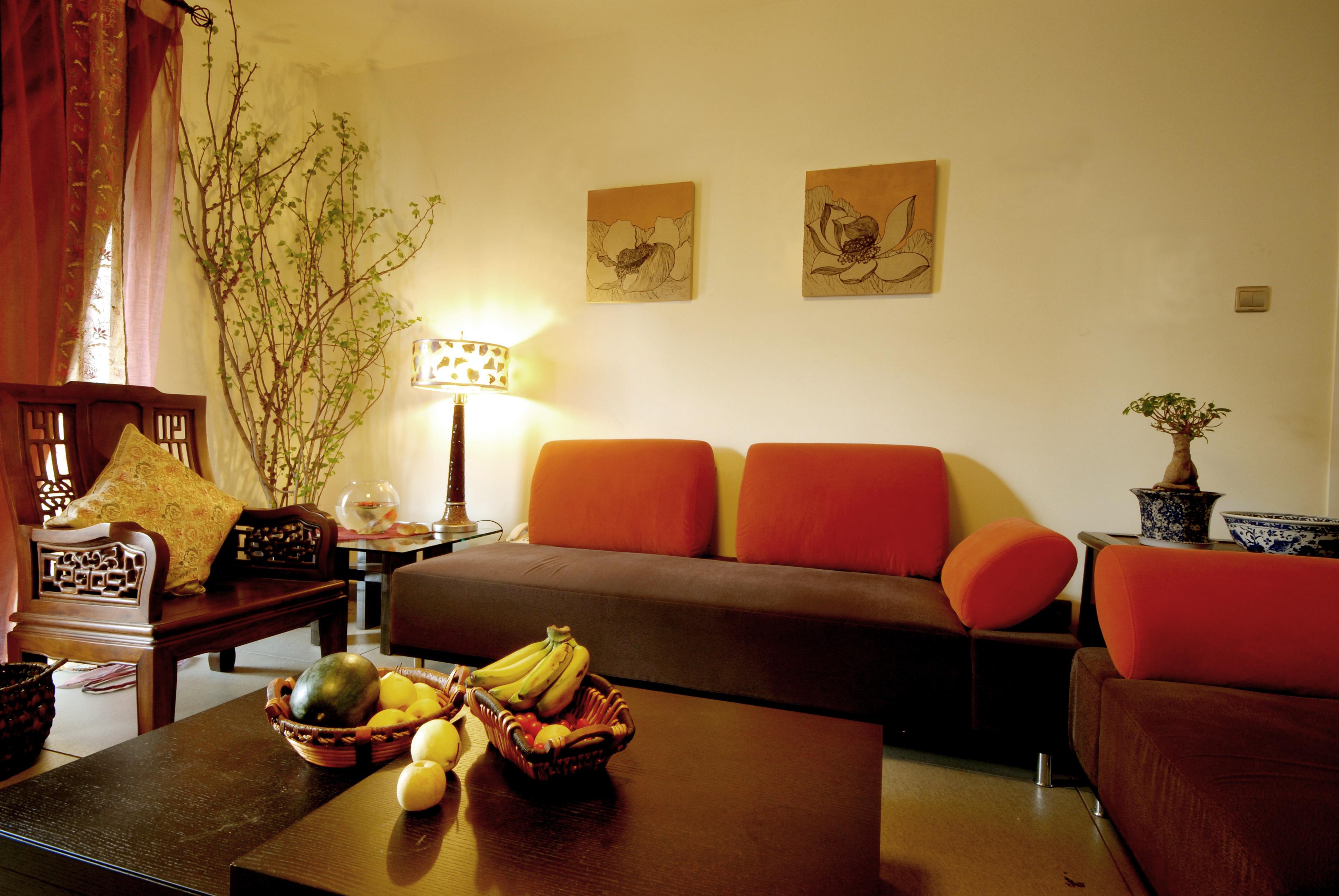 中式古典风 今朝装饰 龙水路 二居 客厅图片来自北京今朝装饰在中式古典--龙水路22号院的分享