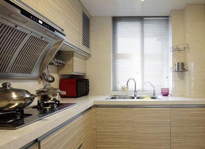 天津实创 中铁国际 二居 简约 装修效果图 厨房图片来自实创装饰小赵在中铁国际 三口之家的幸福港湾的分享