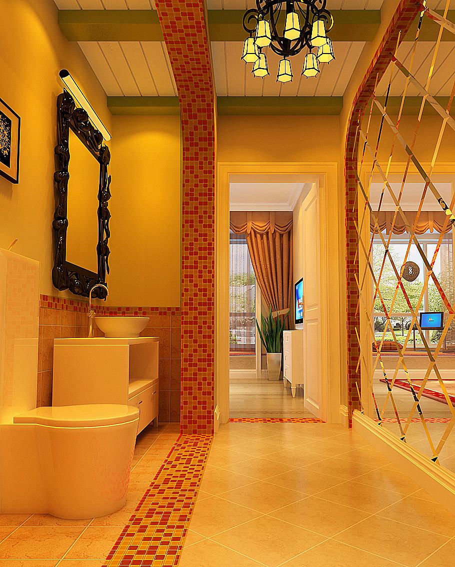 loft婚房 婚房设计 婚房效果图 徐曙光 家居 卫生间图片来自xushuguang1983在现代混搭LOFT婚房设计效果图的分享