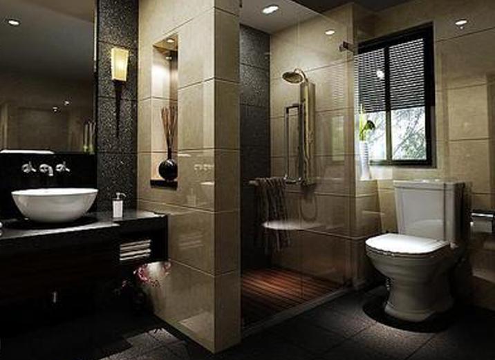 天津实创 中铁国际 二居 简约 装修效果图 卫生间图片来自实创装饰小赵在中铁国际 三口之家的幸福港湾的分享