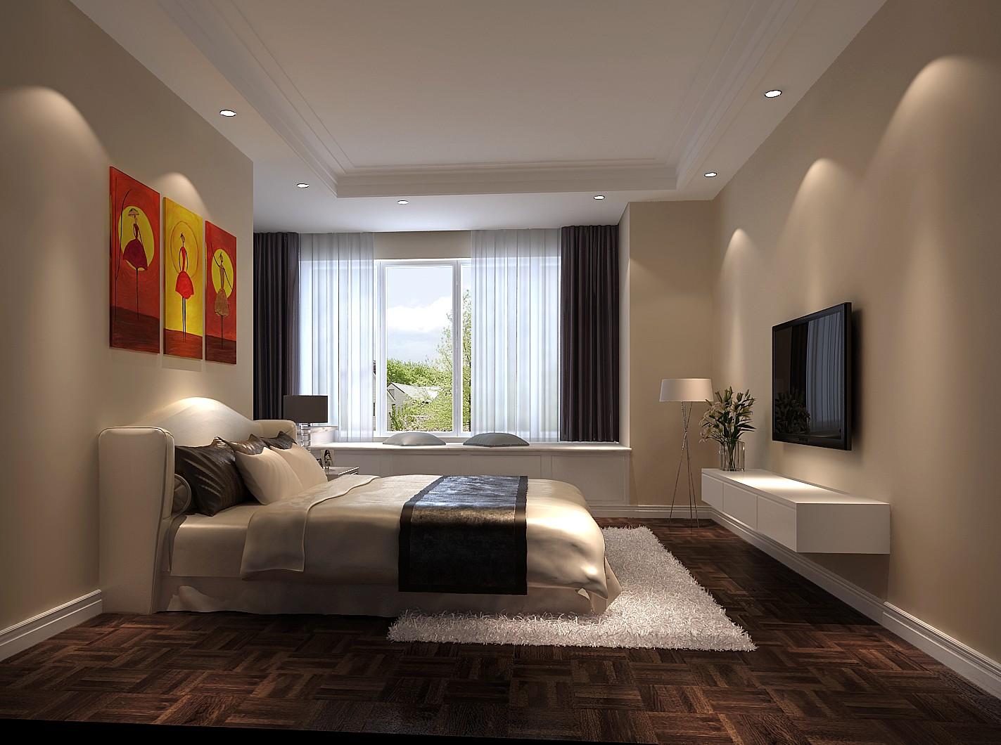 托斯卡纳 三居 白领 80后 小资 卧室图片来自沙漠雪雨在鲁能七号院140托斯卡纳三居的分享