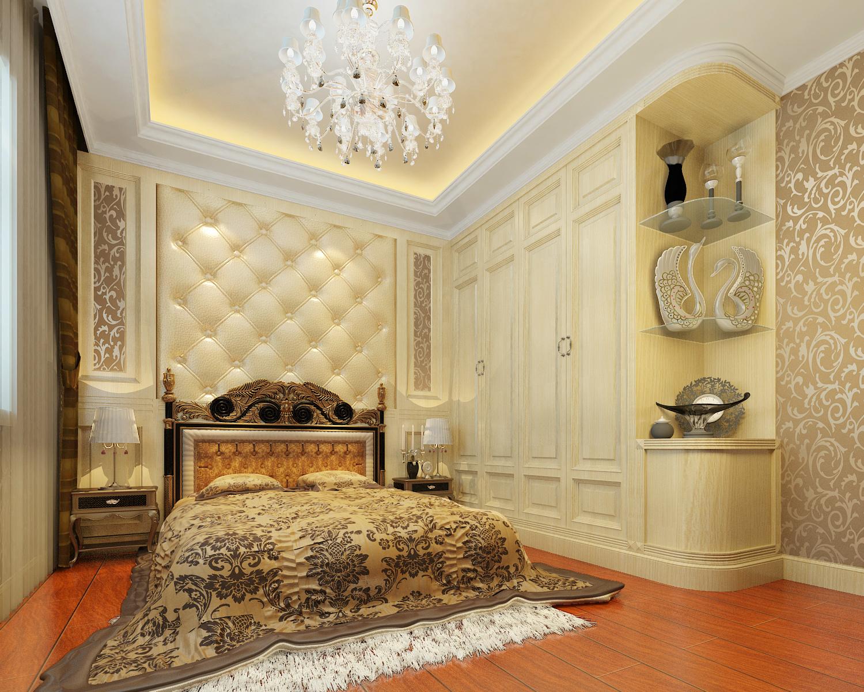 华丽欧式 王府花园 老房改造 旧房改造 收纳 三居 卧室图片来自北京今朝装饰在华丽欧式---昌平王府花园的分享