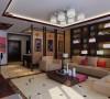 居室:居室在色彩方面秉承了传统古典风格的典雅和华贵,但与之不同的是加入了很多现代元素,呈现着时尚的特征。在配饰的选择方面更为简洁,少了许多奢华的装饰,更加流畅地表达出传统文化中的精髓。