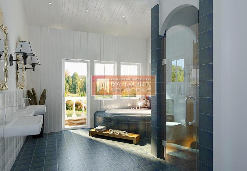 欧式 别墅 优山美地 旧房改造 卫生间图片来自赵丹在优山美地的分享