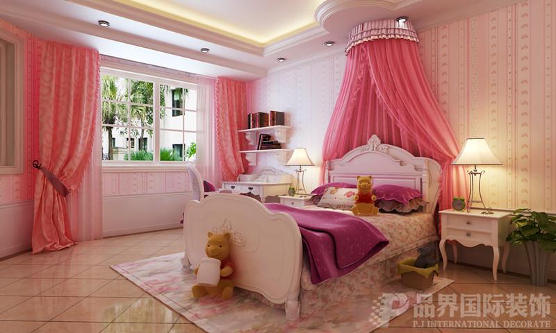 别墅 白领 儿童房图片来自石家庄品界国际装饰在欧式风格的江南新城的分享
