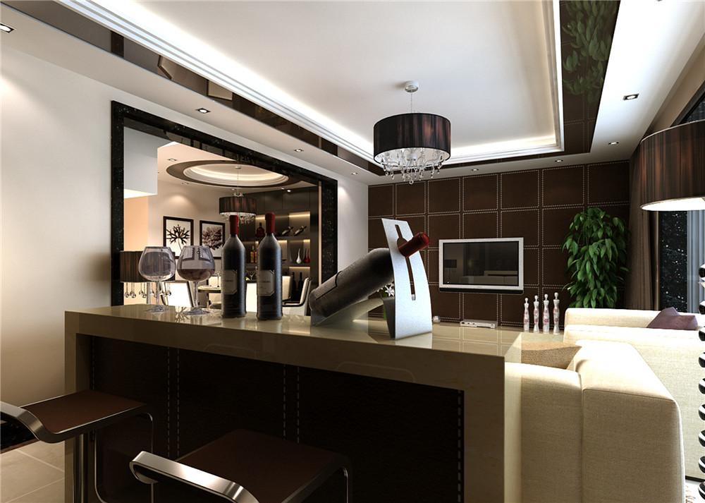 现代简约 三居设计 功能间齐全 简单时尚 其他图片来自上海实创-装修设计效果图在173平米现代时尚的设计的分享