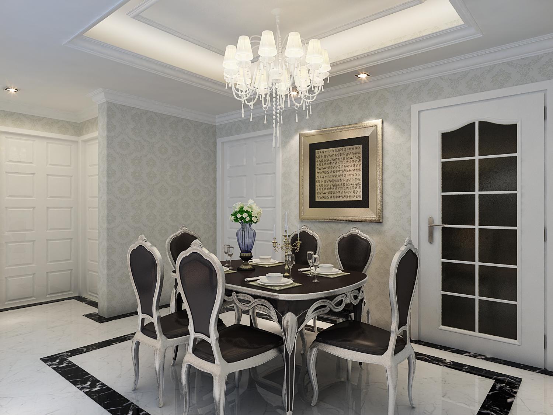 三居 欧式 收纳 旧房改造 小资 餐厅图片来自装饰装修-18818806853在中颐海伦堡-欧式风格装修的分享