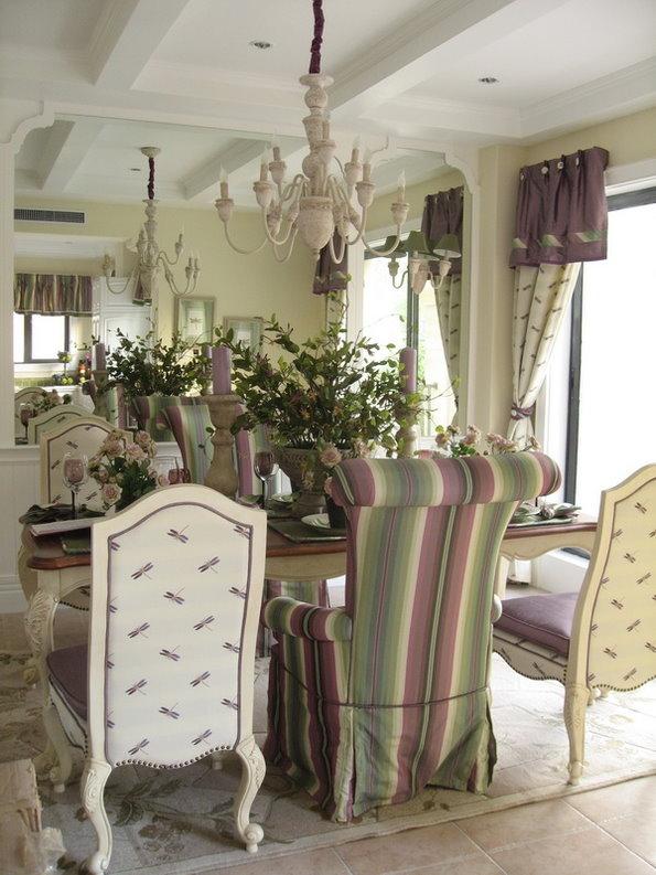 田园 别墅 收纳 天津别墅 餐厅图片来自天津别墅装修公司在自然、舒适、温婉内敛的田园风格的分享