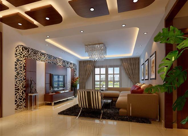 欧式 高贵典雅 四居 客厅图片来自合建装饰李世超在爱之巢的分享