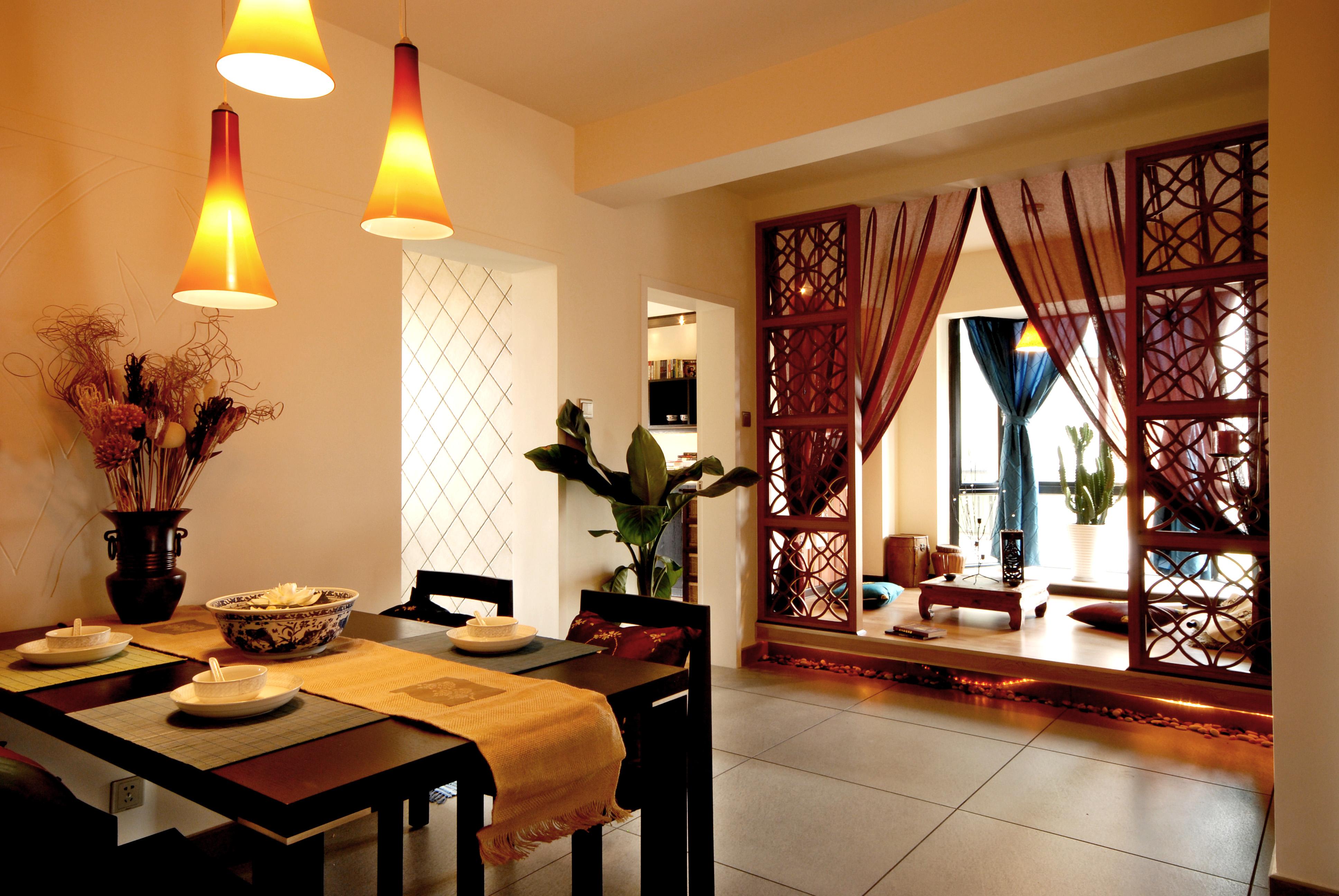 中式古典风 今朝装饰 龙水路 二居 餐厅图片来自北京今朝装饰在中式古典--龙水路22号院的分享