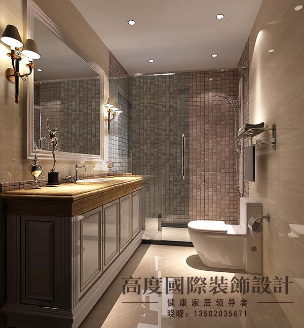 北欧极简 跃层 小资 卫生间图片来自天津高度国际装饰设计在逸品轩~北欧极简的分享