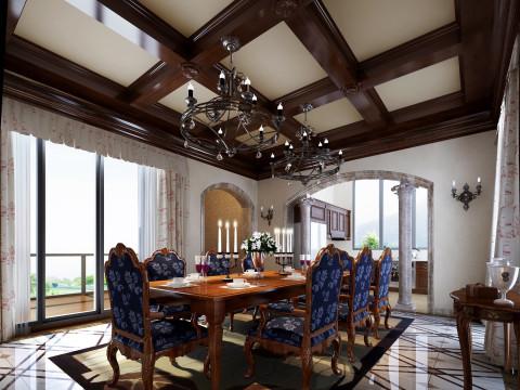 中式三室二厅