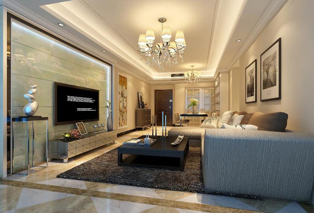 欧式 客厅图片来自深圳市浩天装饰在阅山华府的分享